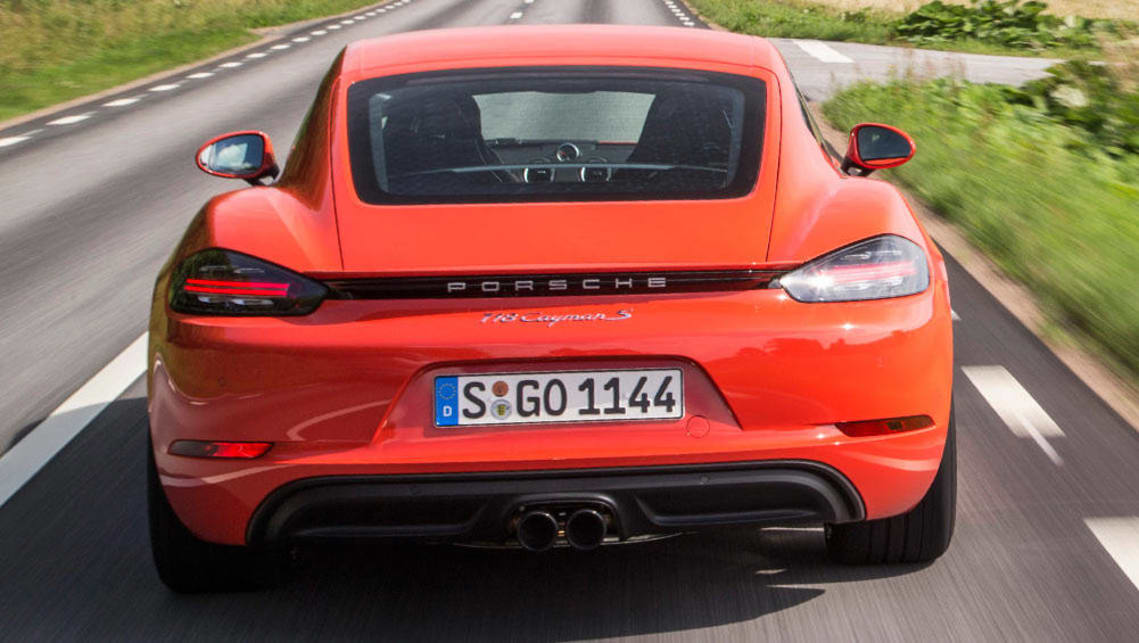 2016 Porsche Cayman S Review >> Porsche 718 Cayman S 2016 Review Carsguide