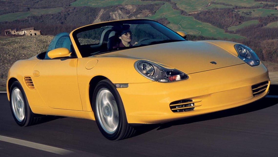 Porsche cayman 2003