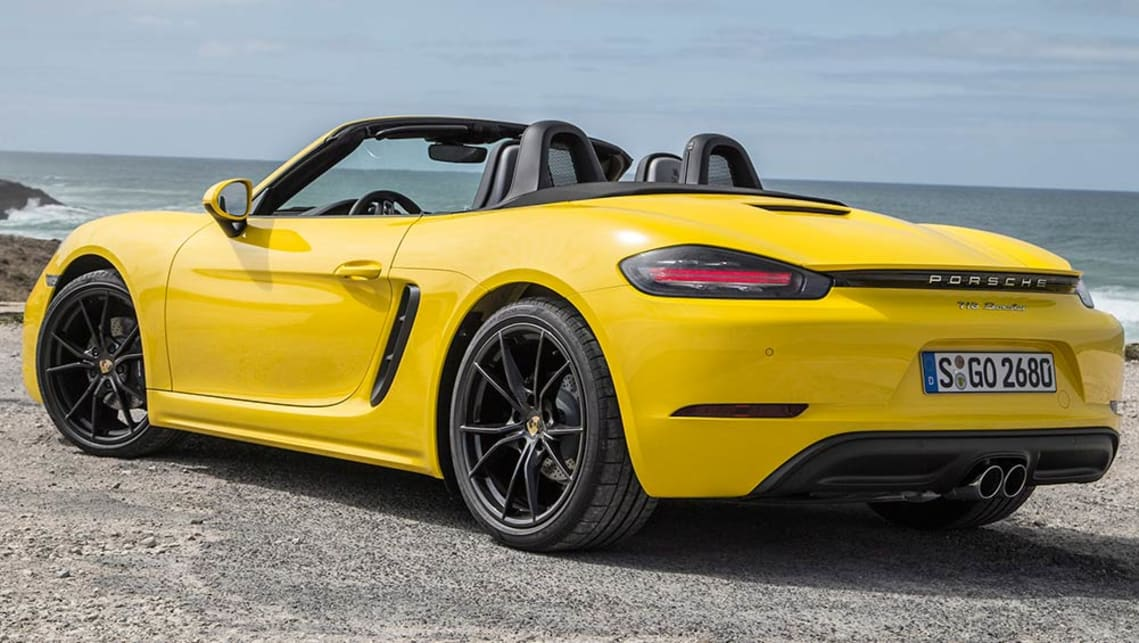 porsche 718 boxster 2016 review road test carsguide. Black Bedroom Furniture Sets. Home Design Ideas