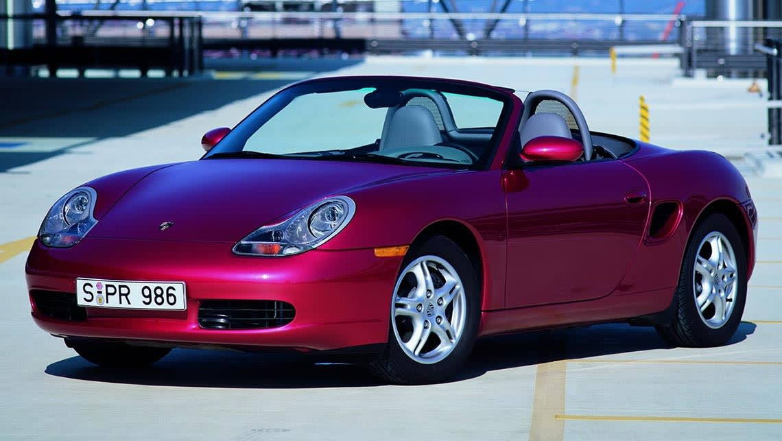 Used Porsche Boxster Review 1997 2000