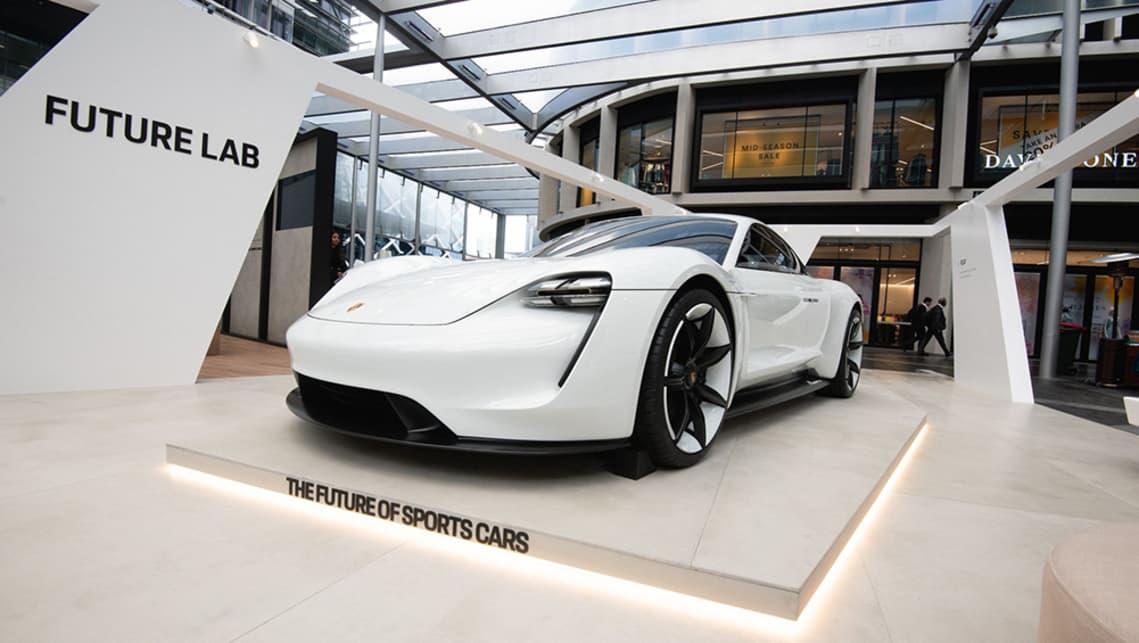 Porsche Mission E >> Porsche Taycan confirmed for 2020 Australian launch - Car News | CarsGuide