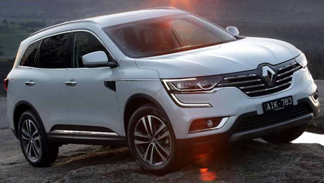 2016 Renault Koleos Intens. Picture: supplied.