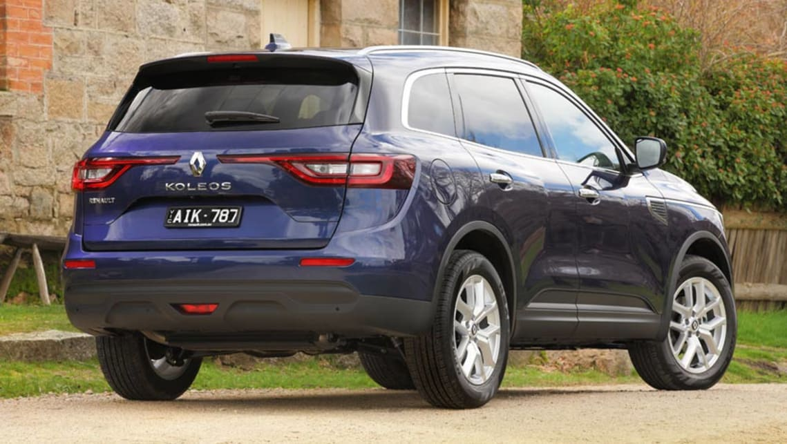 renault koleos 2016 review first drive video carsguide. Black Bedroom Furniture Sets. Home Design Ideas