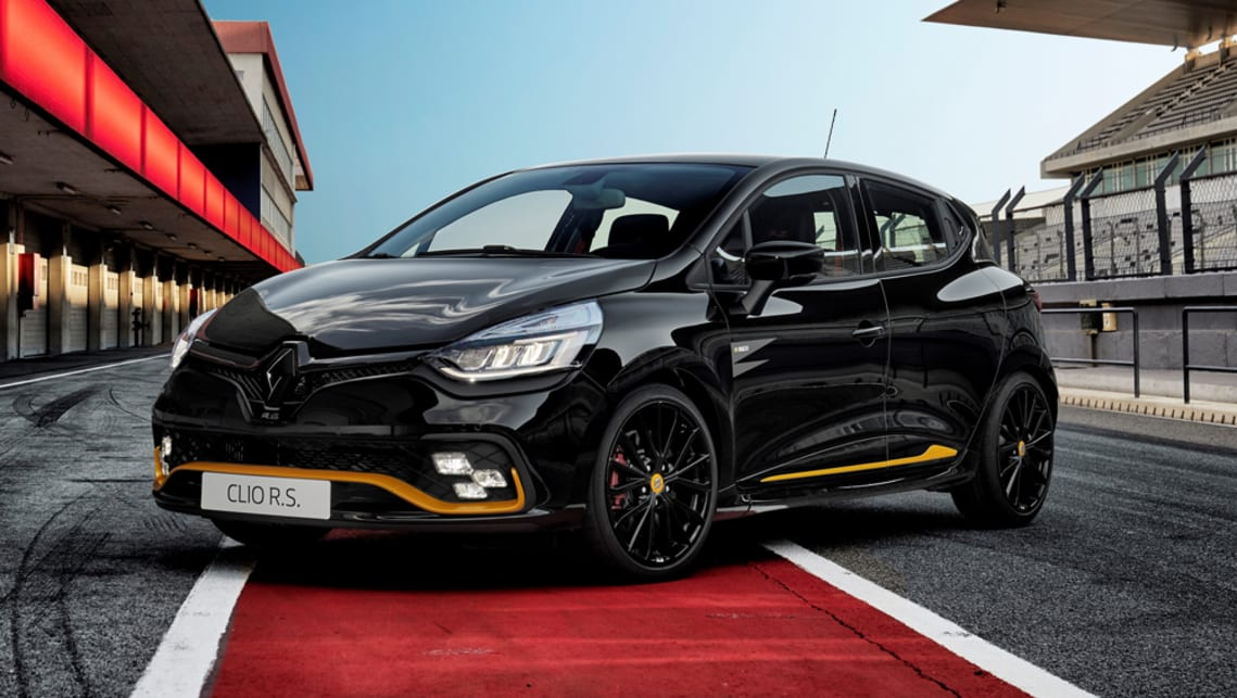 renault clio rs 18 2018 confirmed for australia car news carsguide. Black Bedroom Furniture Sets. Home Design Ideas