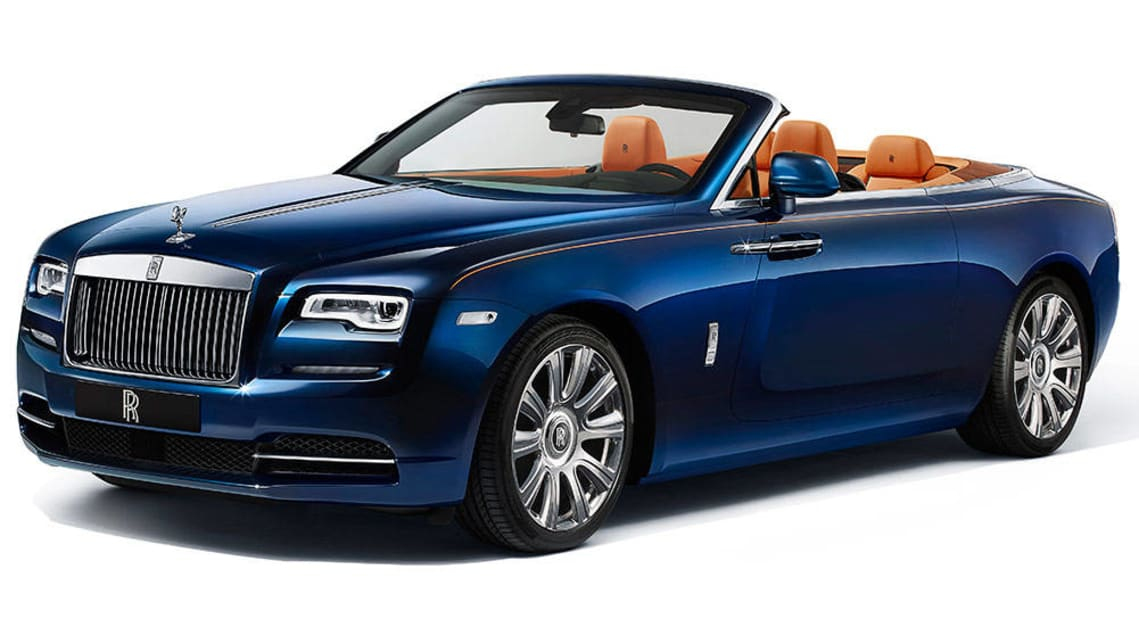 Rolls Royce Dawn Convertible Revealed Car News Carsguide