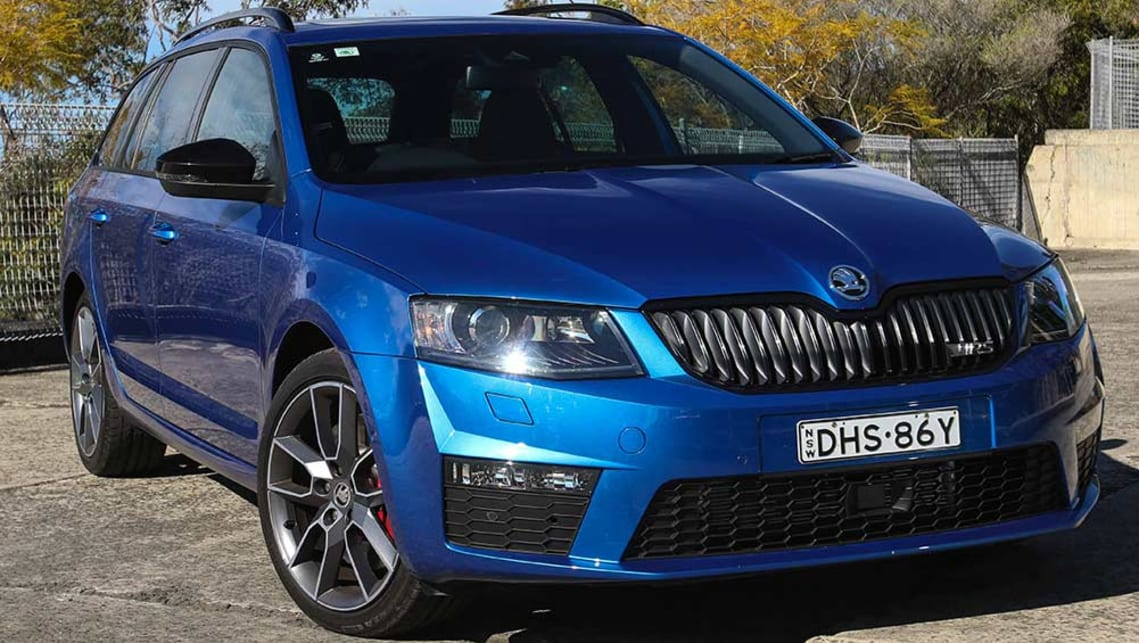 2016 Skoda Octavia RS 162TSI Wagon. Picture credit: Tim Robson.