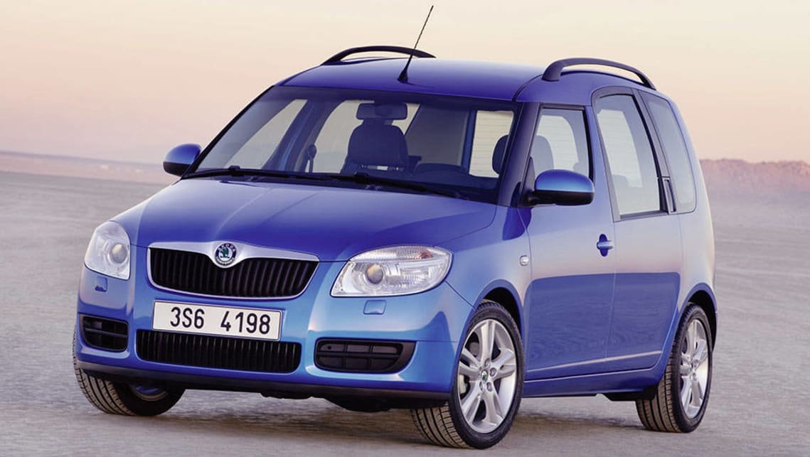 skoda roomster used review 2007 2014 carsguide. Black Bedroom Furniture Sets. Home Design Ideas
