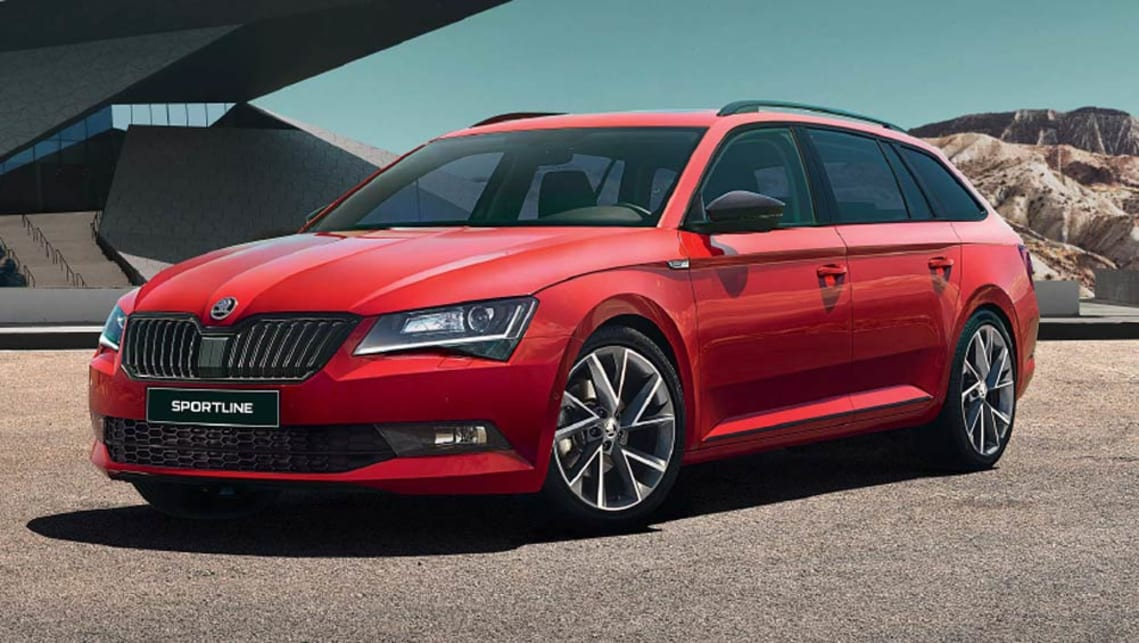 skoda confirms superb sportline flagship for february car news carsguide. Black Bedroom Furniture Sets. Home Design Ideas