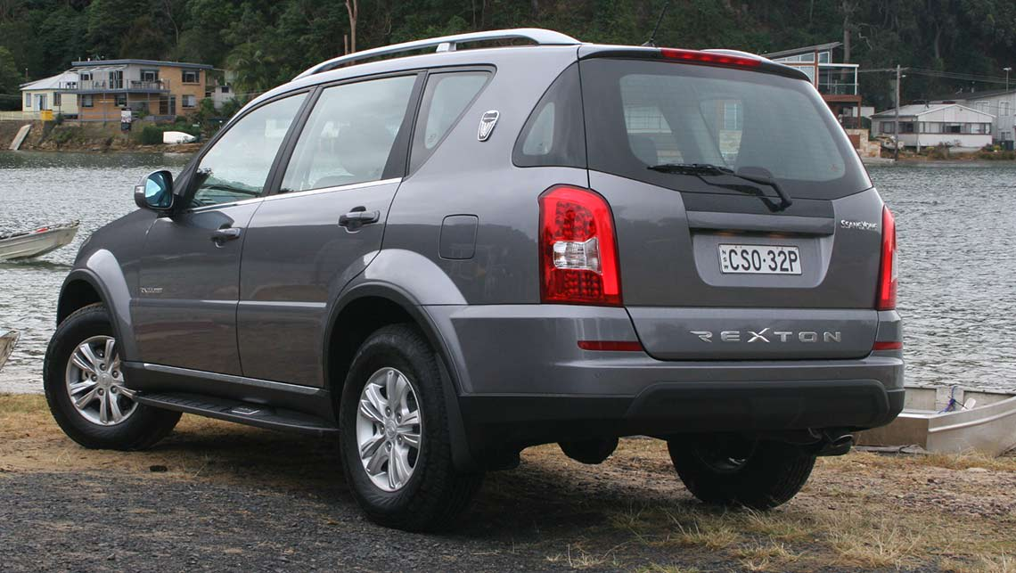 2014 ssangyong rexton review carsguide. Black Bedroom Furniture Sets. Home Design Ideas