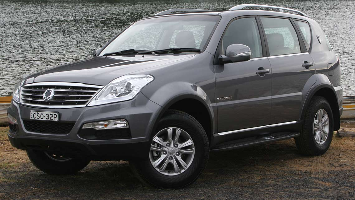 ssangyong rexton 2014 review carsguide. Black Bedroom Furniture Sets. Home Design Ideas