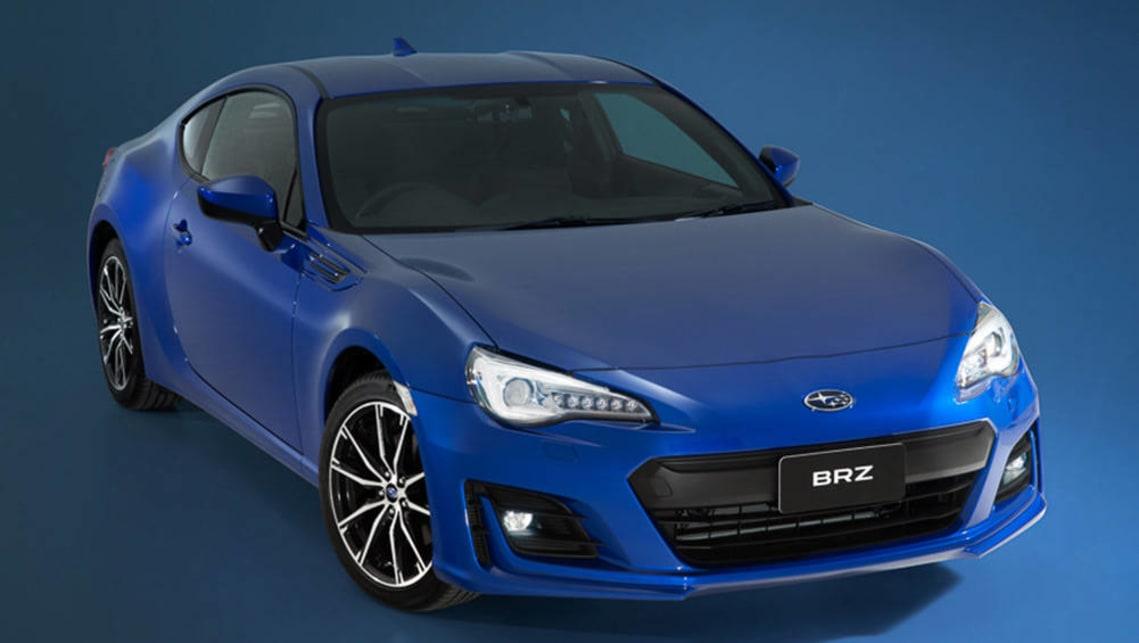 2017 Subaru Brz Australian Specs Confirmed