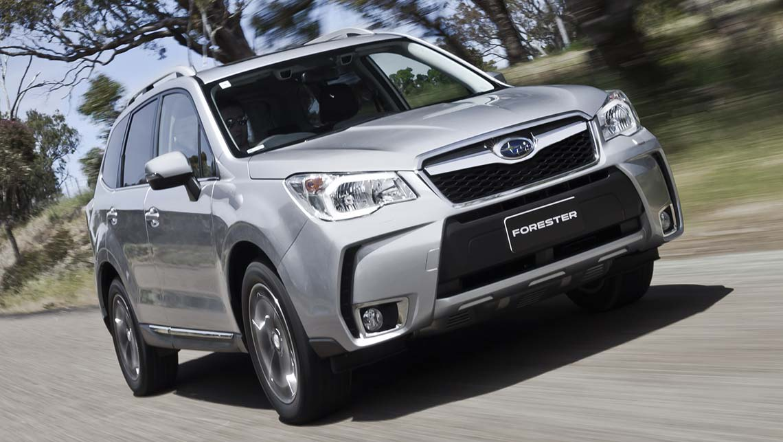 Subaru Forester XT auto 2013 first drive review