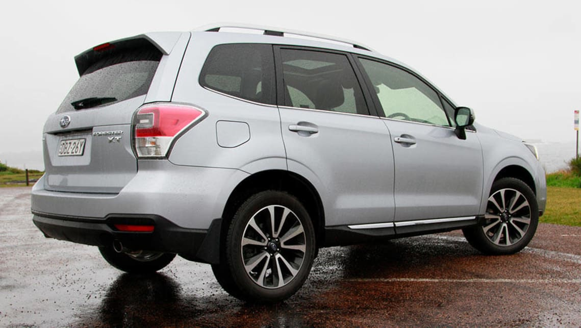 Subaru forester turbo review