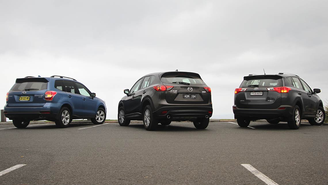 2015 Mazda CX-5, Toyota RAV4 and Subaru Forester diesel ...