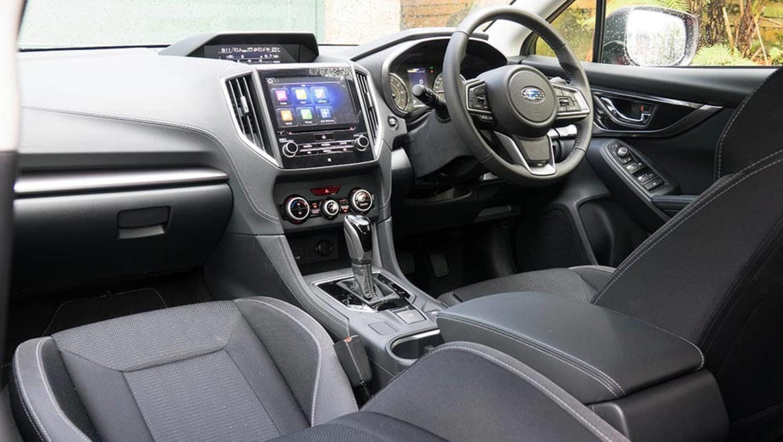 2017 subaru impreza hatchback interior. Black Bedroom Furniture Sets. Home Design Ideas