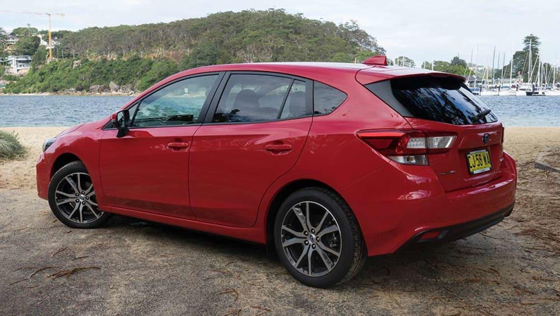 2017 subaru impreza hatchback review best new cars for 2018. Black Bedroom Furniture Sets. Home Design Ideas