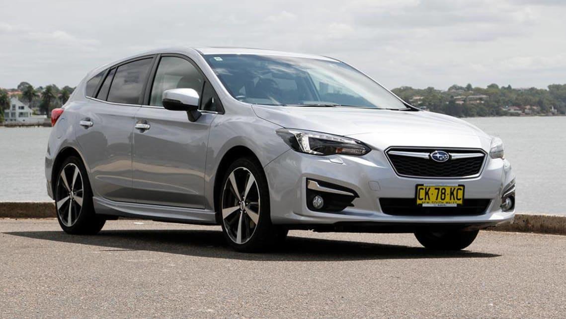 Subaru impreza hatchback 2017 specs
