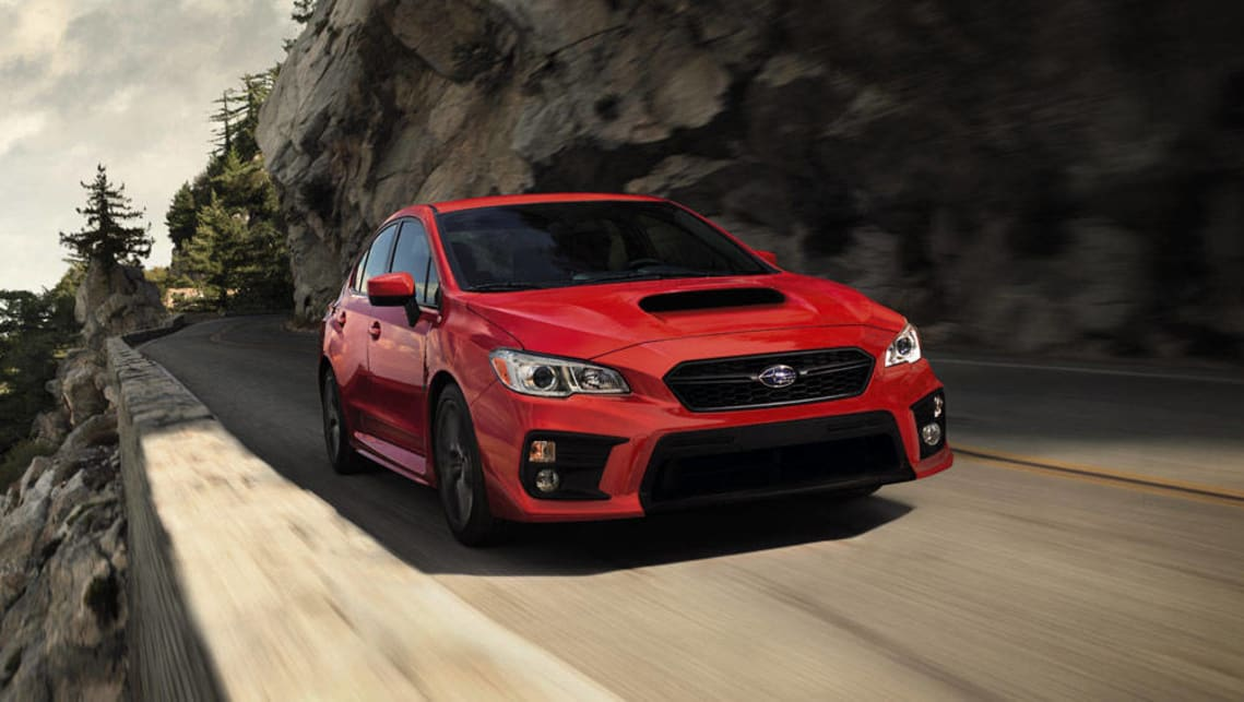 2017 subaru wrx and sti revealed video car news carsguide. Black Bedroom Furniture Sets. Home Design Ideas