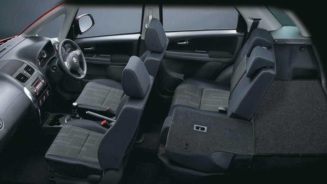 Suzuki sx4 review 2008