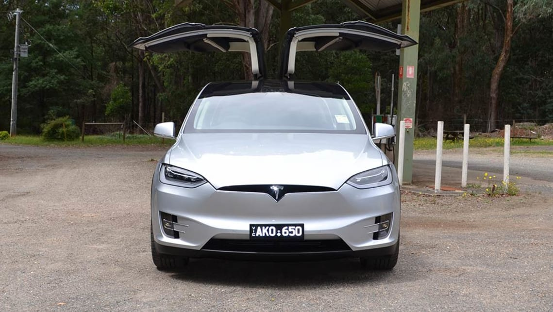 Tesla Model X 100d 2017 Review Snapshot Carsguide