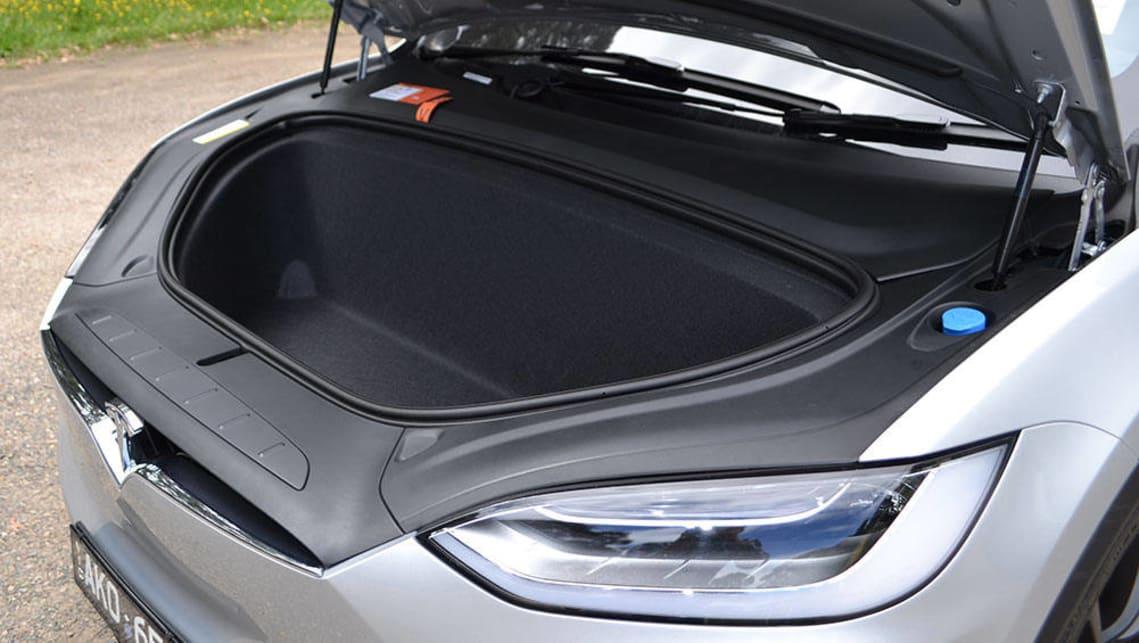 Tesla Model X P100d 2017 Review Snapshot Carsguide