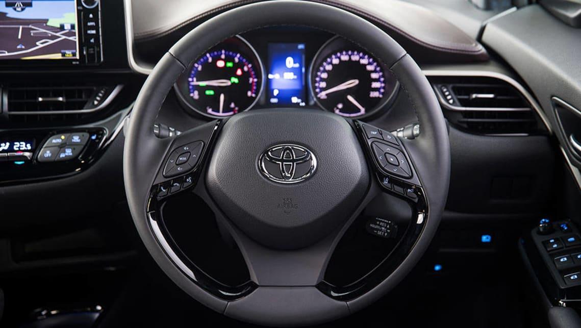 Toyota C Hr Koba Silver Suv Interior Press Images