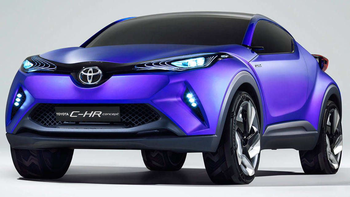 2017 toyota c hr small suv to get turbo power car news. Black Bedroom Furniture Sets. Home Design Ideas