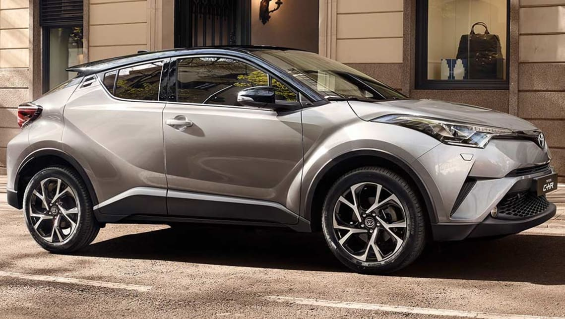Toyota C-HR SUV interior revealed ahead of 2017 launch ...