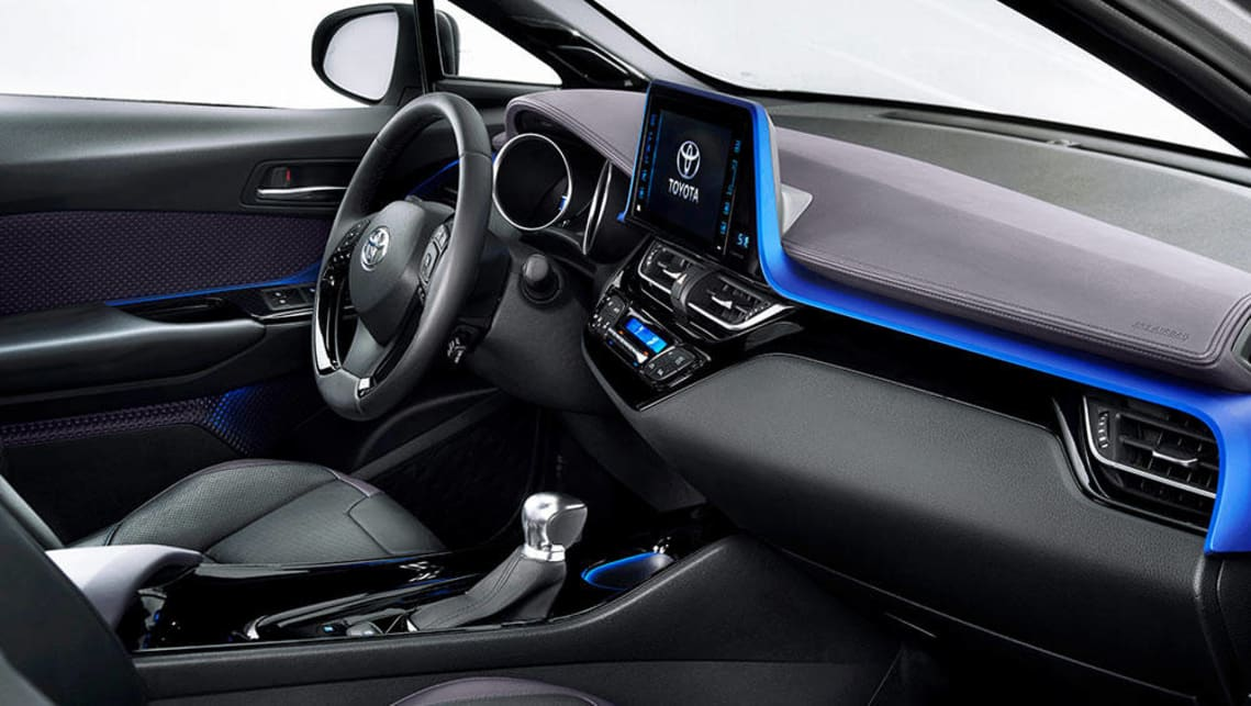 Toyota C Hr Suv Interior Revealed Ahead Of 2017 Launch Car News