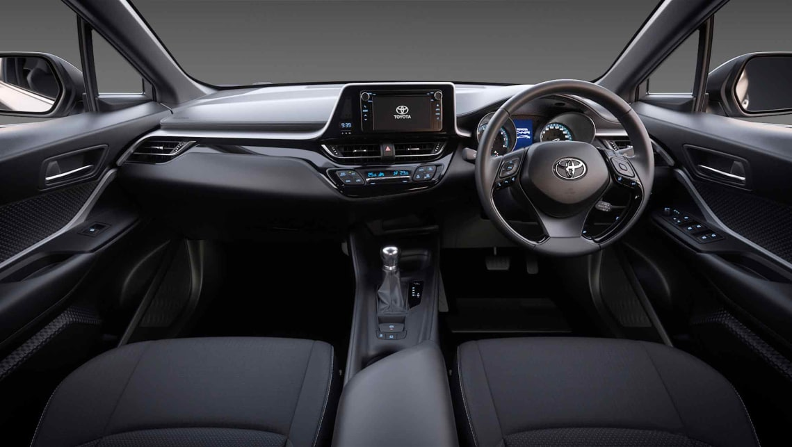 Toyota c hr 2017 review carsguide for Hr design interiors