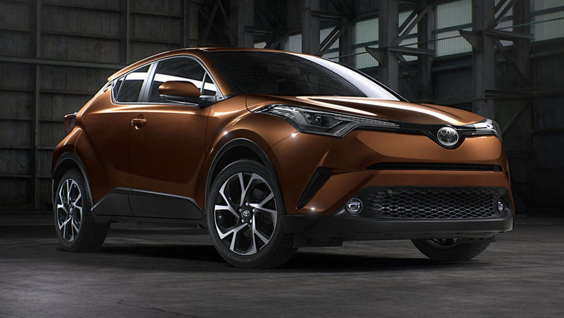 2017 Toyota C Hr Koba Pre Production Model Shown