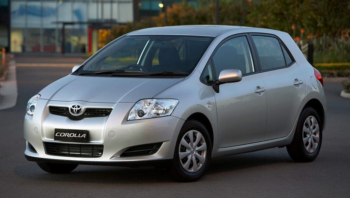 Toyota Corolla Ascent hatch 2007