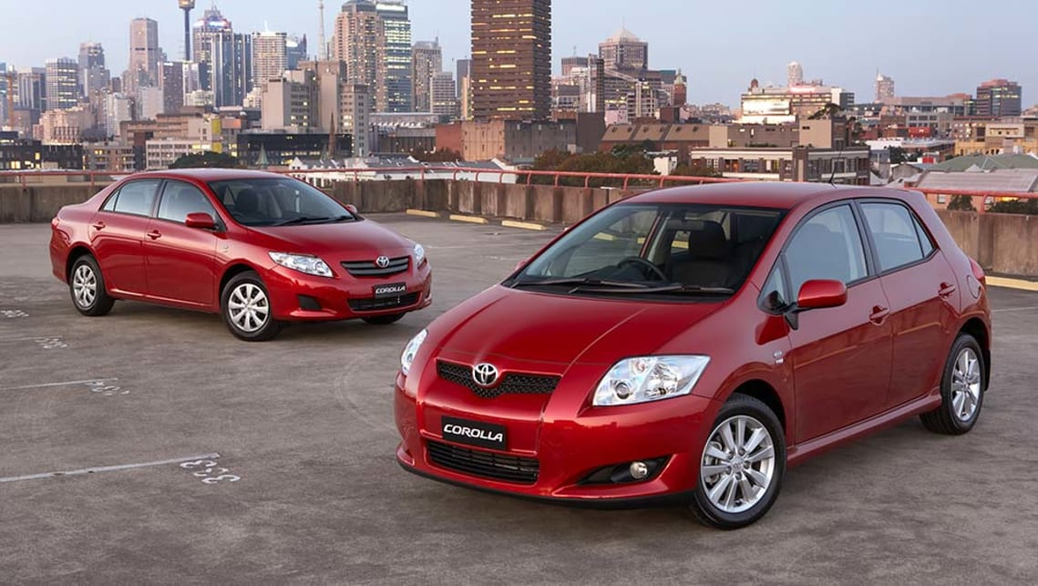 Toyota Corolla Levin SX hatch and Ascent sedan 2007