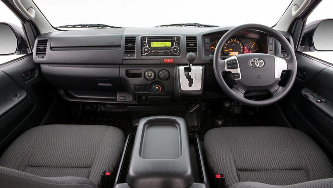 Toyota HiAce LWB Crew Van 2017 review   road test   CarsGuide