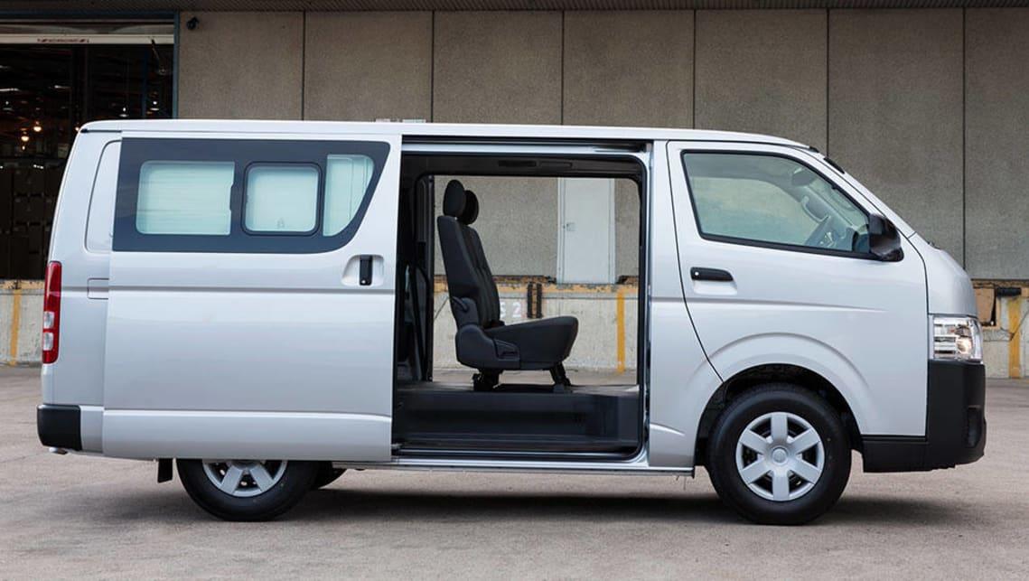 Toyota Hiace Van Interior Dimensions