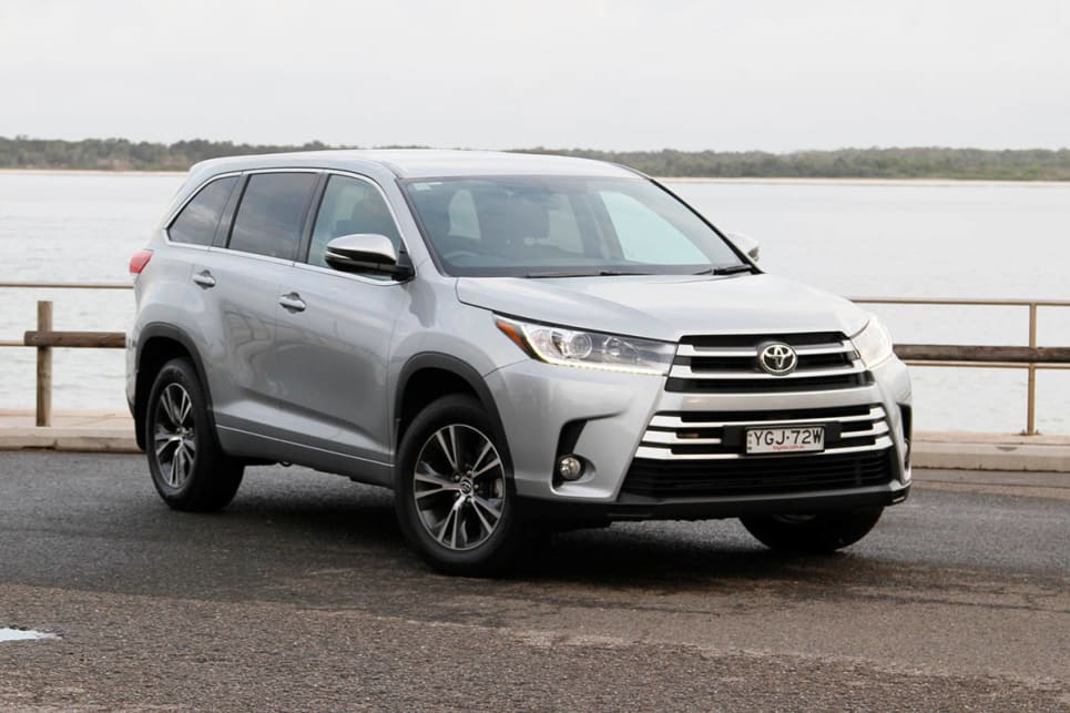 toyota kluger 2017 review carsguide