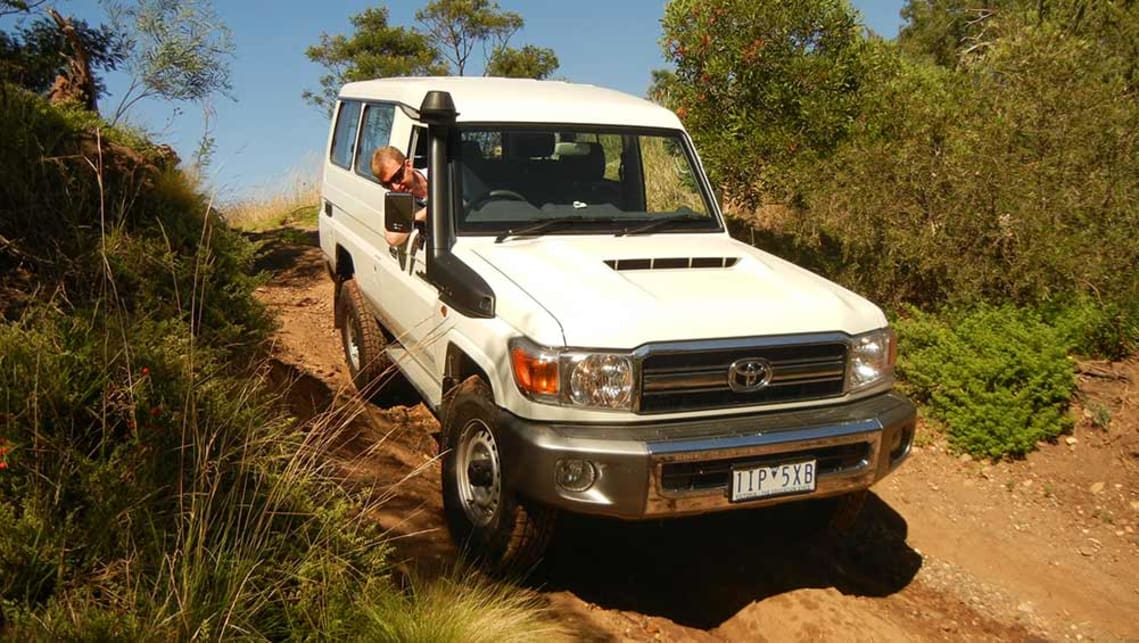 Toyota Lc78 Landcruiser Troopcarrier Gxl 2017 Review