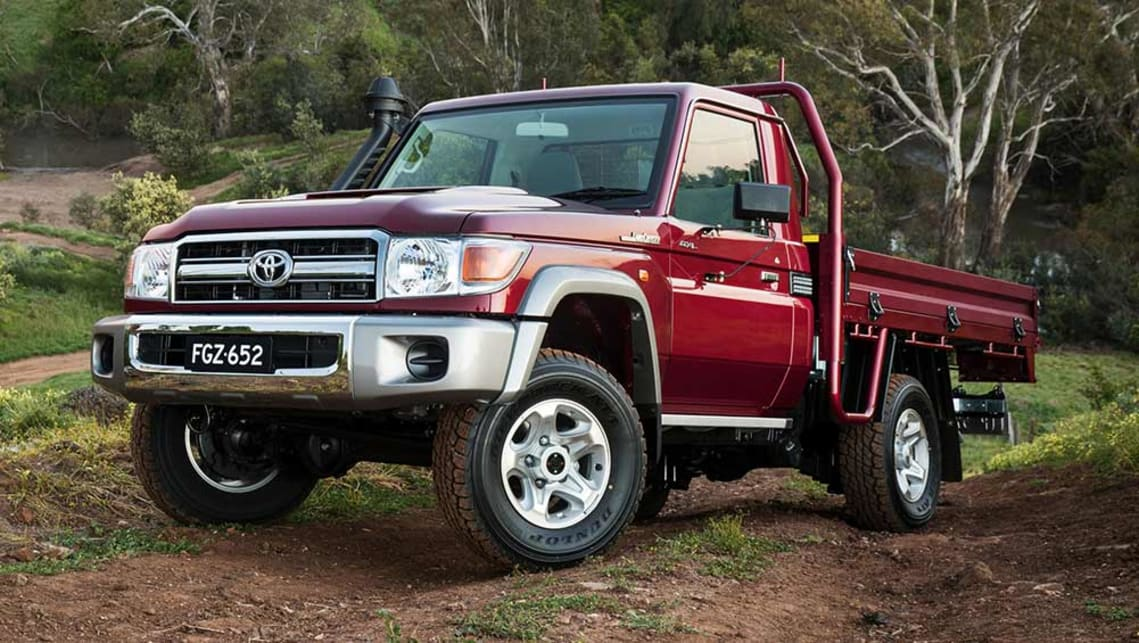 toyota landcruiser 70 series single cab 2016 review