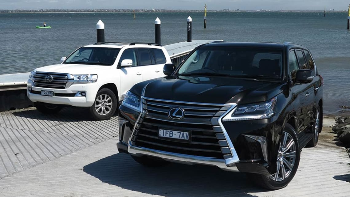 Toyota Land Cruiser Sahara And Lexus LX570 2016 Review