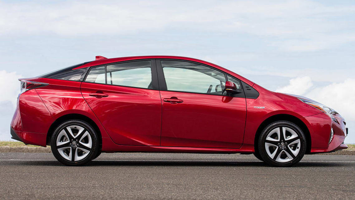 2016 toyota prius i tech review road test carsguide. Black Bedroom Furniture Sets. Home Design Ideas