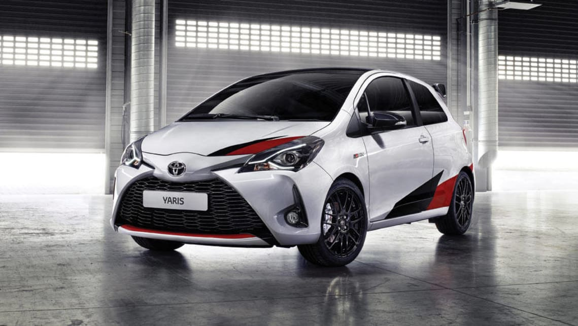 2017 toyota yaris grmn previews performance future car news carsguide. Black Bedroom Furniture Sets. Home Design Ideas