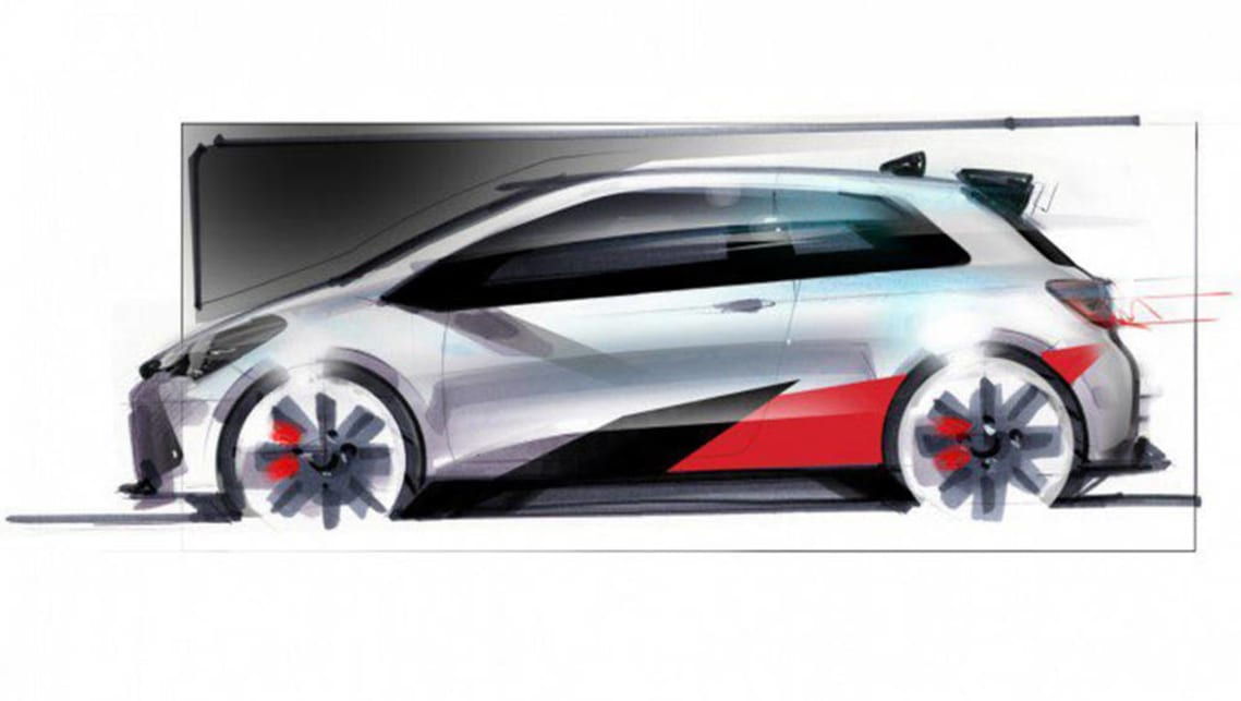 toyota yaris wrc points to performance car future car news carsguide. Black Bedroom Furniture Sets. Home Design Ideas