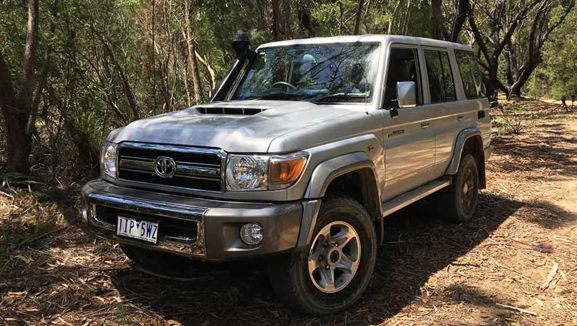 Toyota LC76 LandCruiser GXL 70 Series wagon 2017 review ...