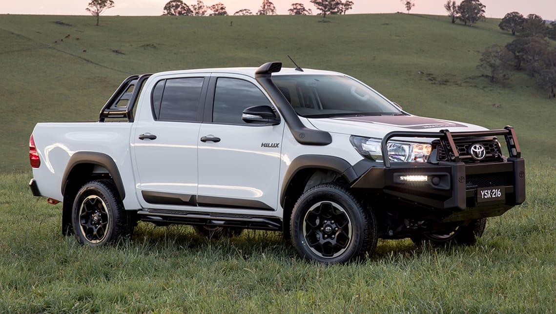best selling pickup truck australia