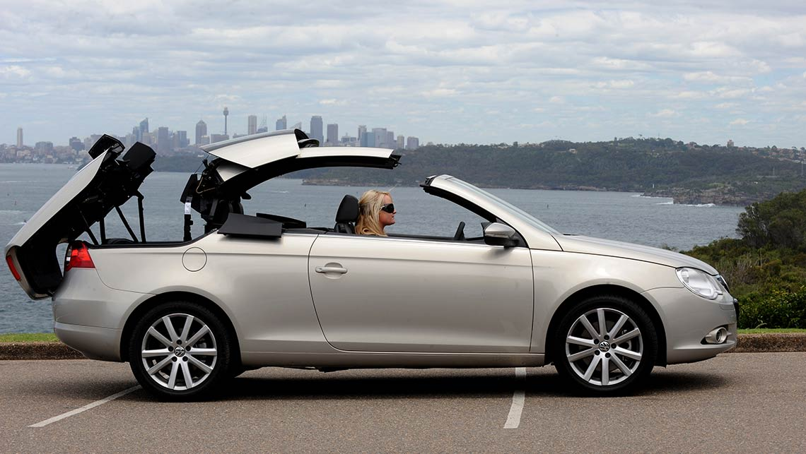 used volkswagen eos review 2007 2012 carsguide. Black Bedroom Furniture Sets. Home Design Ideas