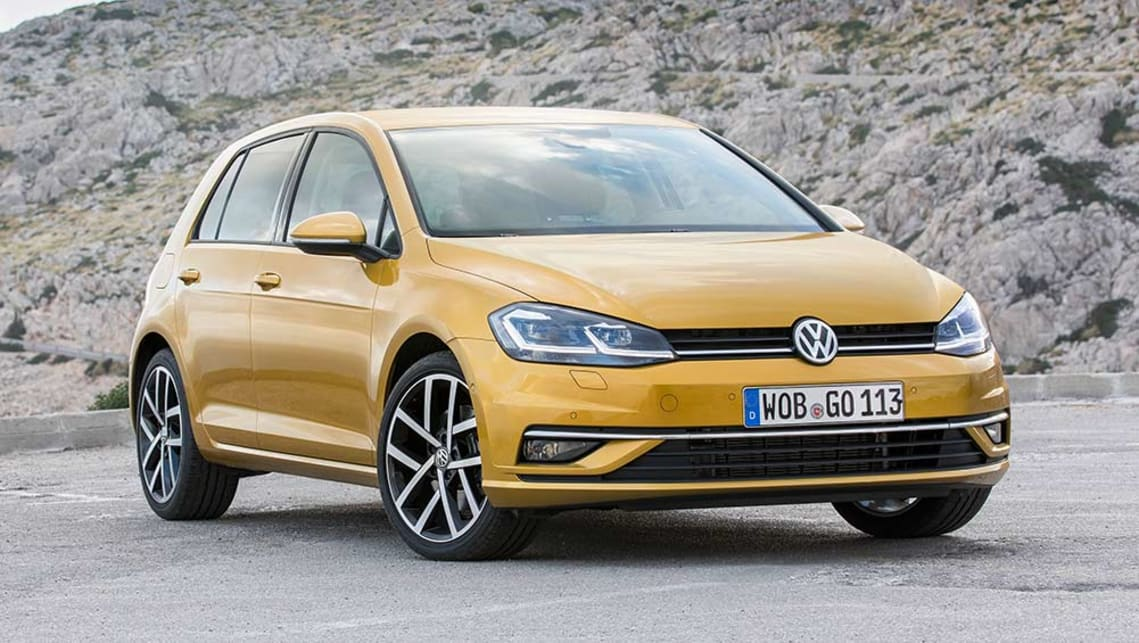 volkswagen golf 2017 review first drive video carsguide. Black Bedroom Furniture Sets. Home Design Ideas