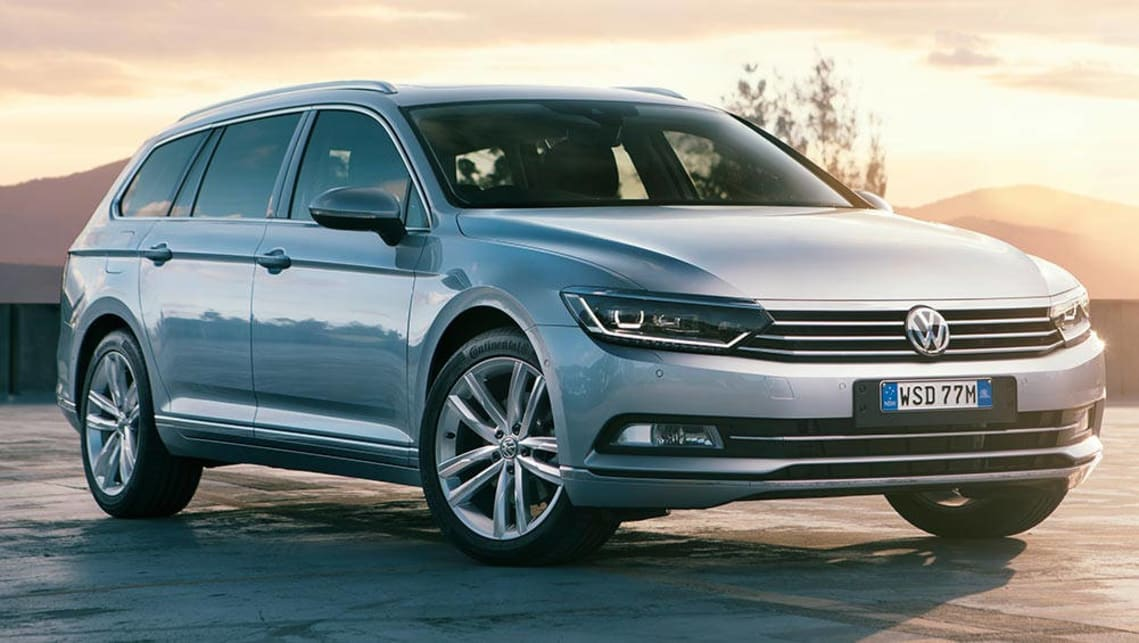 2016 vw passat wagon review road test carsguide. Black Bedroom Furniture Sets. Home Design Ideas