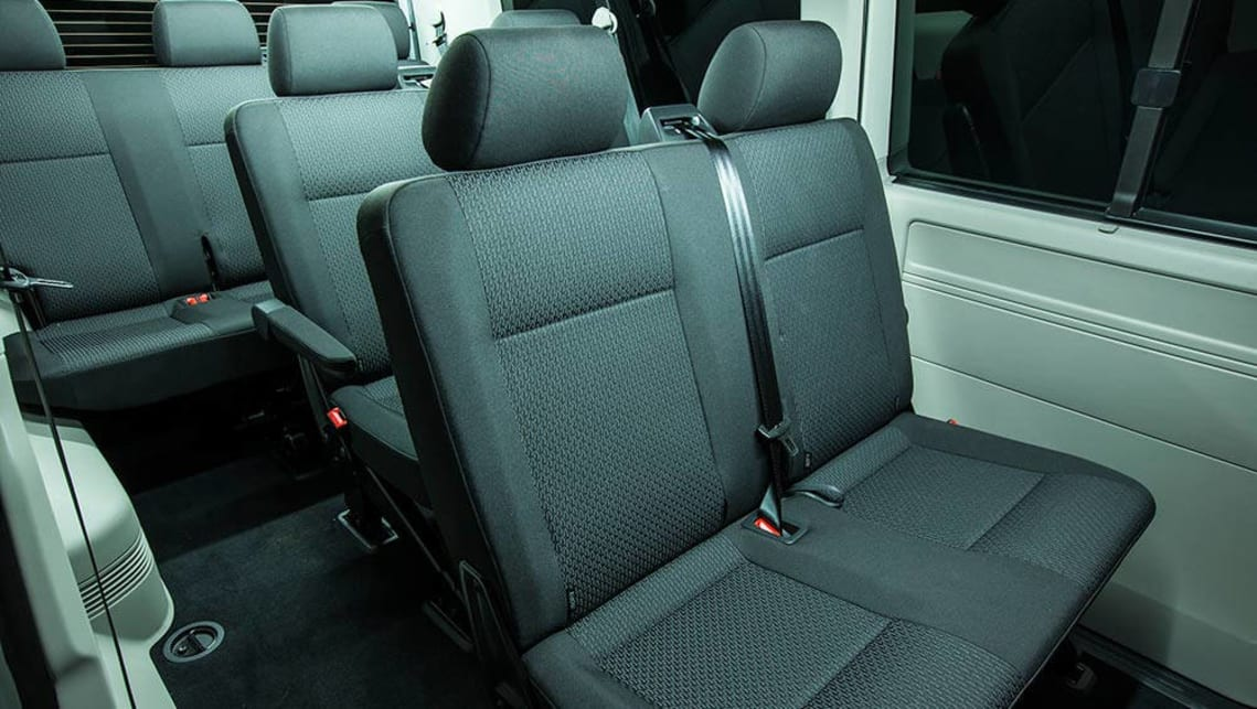 volkswagen transporter, caravelle and multivan 2016 review | carsguide