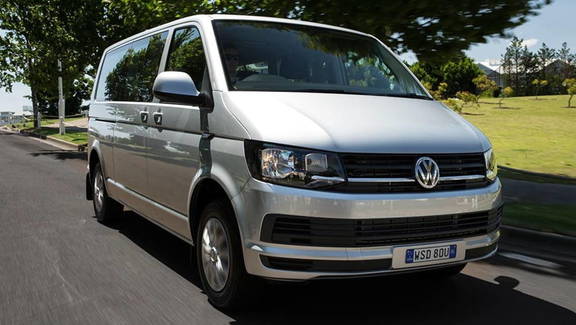 2016 volkswagen transporter caravelle and multivan review first drive video carsguide. Black Bedroom Furniture Sets. Home Design Ideas