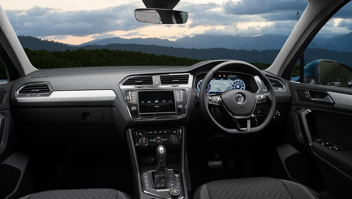 Volkswagen Tiguan 110TSI Comfortline 2017 review: snapshot ...